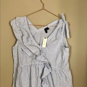 NWT Anthropologie Left of Center Sleeveless top